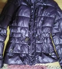 Ljubicasta zimska jakna