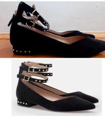 Bershka cipele od plisa vel 39