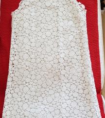 Bela cipkana mini Michael Kors haljina