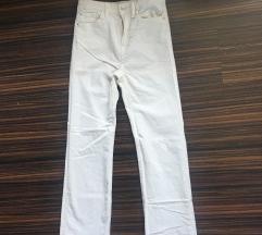 Nove bele pantalone somot