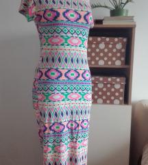 Sarena letnja haljina S/M