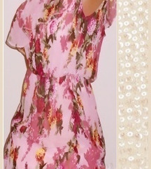 1.01. Prelepa cvetna haljina L ★TOP CENA