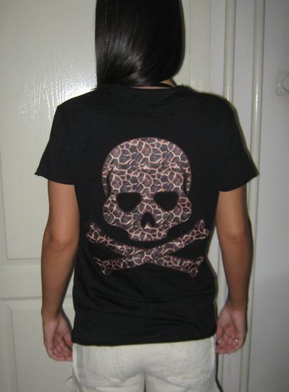 Fishbone Skull majica-nova!