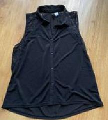 Crna košuljica bez rukava