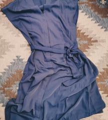 Bledoljubicasta HM haljina s kaisem