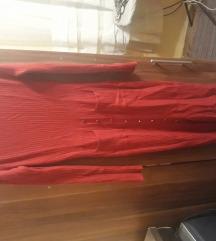 Džemper haljina sa šlicem duža
