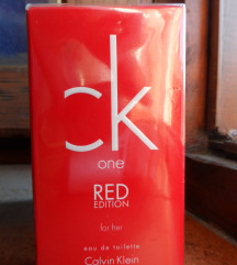 CK one RED edition her