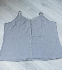 Siva majica na bretele 3XL - 4XL