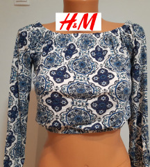 H&M crop top majica vel XS