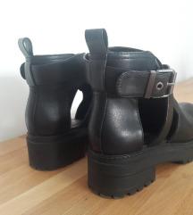 BERSHKA Grundge Ankle Booties - letnje čizmice