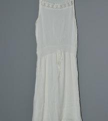 Bela letnja lagana haljina