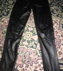 Crne pantalone helenke kožne