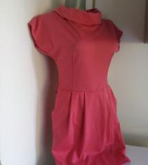Tamno roze haljina S/M