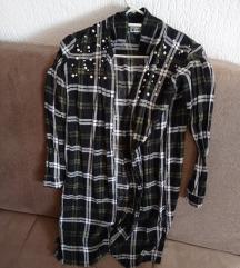 Duga košulja haljina