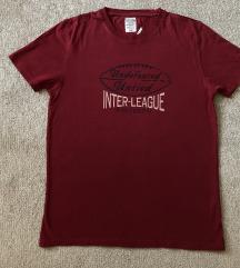 Tommy Hilfiger original crvena bordo muska majica