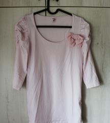 Roze majica sa mašnicom