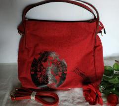 Crvena torba MASS...velika ***NOVO