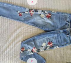 Viva couture floral jeans
