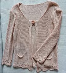 *SALE* Bledo rozi končani džemper, vel. S/KAO NOVO