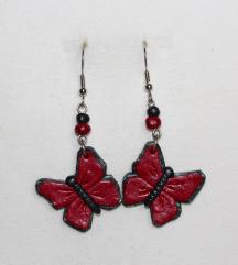 Minđuše leptiri