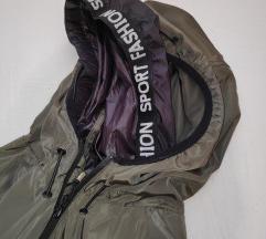 Maslinasta tanka sportska jakna