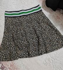 C&A tigrasta kratka suknja NOVO