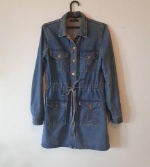 Teksas jakna/haljina SNIZENO  900din