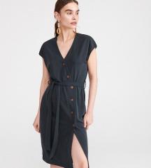 Reserved nova haljina sa cik cak kopcanjem