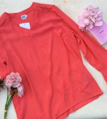 Saint Tropez bluza roze Nova sa etiketom