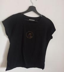 Reserved majica sa printom macke, jednom nosena