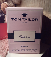 Tom Tailor Exclusive edt 30ml!