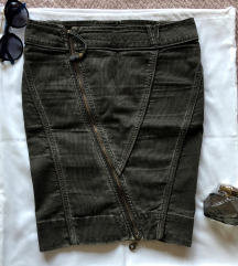 DIESEL ORIGINAL siva suknja 26 ili S