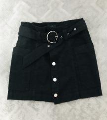 Bershka crna suknja