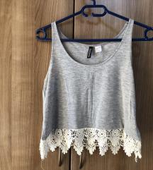 NOVA H&M crop top majica