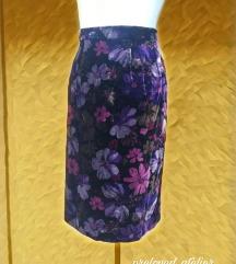 Vintage unikatna suknja