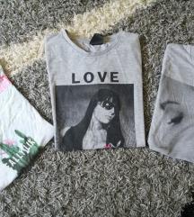 3 majice s, m