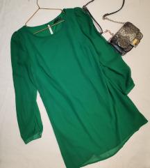 Zelena accessorize haljina
