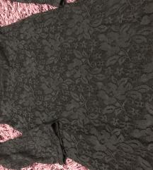 Crna uska haljinica