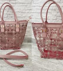 3u1 Puder roze torba