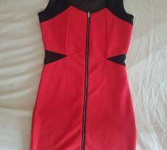 Uska haljina na rajsferslus 38