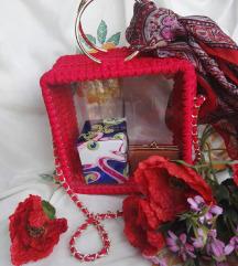 Crvena unikatna torba