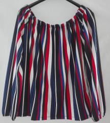 Amisu off shoulder sarena bluza NOVO sa etiketom