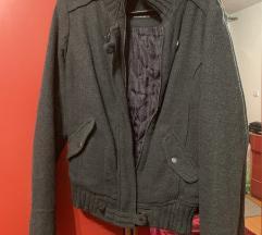 Siva jakna + torba GRATIS
