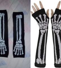 ❤️ Skeleton rukavice ❤️