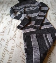 NEXT trikotazna midi haljina sa rolkom