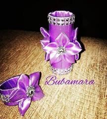 Prstenovi za salvete i ukras za slavsku svecu