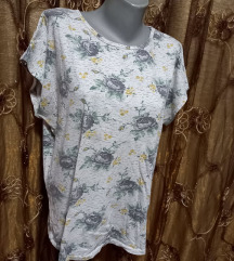 bela majica XL