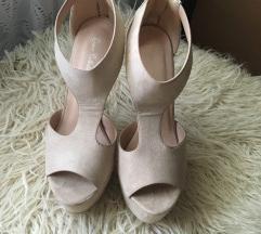 Sandale krem