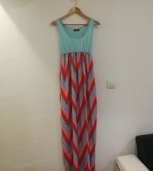 Šarena dugačka haljina!