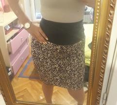 Zanzi suknja visok struk